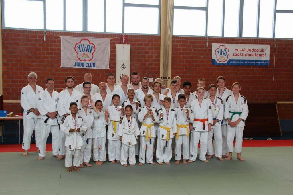 Yu-Ai Judoclub Almere Clubdag Judo Prijzen