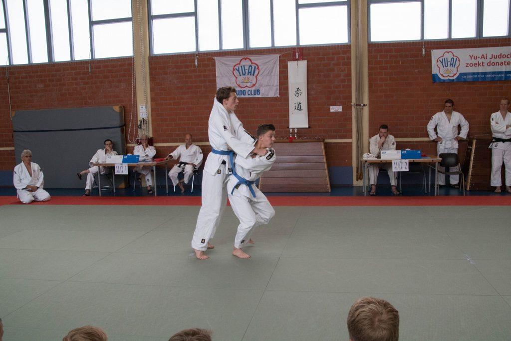 Yu-Ai Judoclub Almere Kata Demonstratie Judo