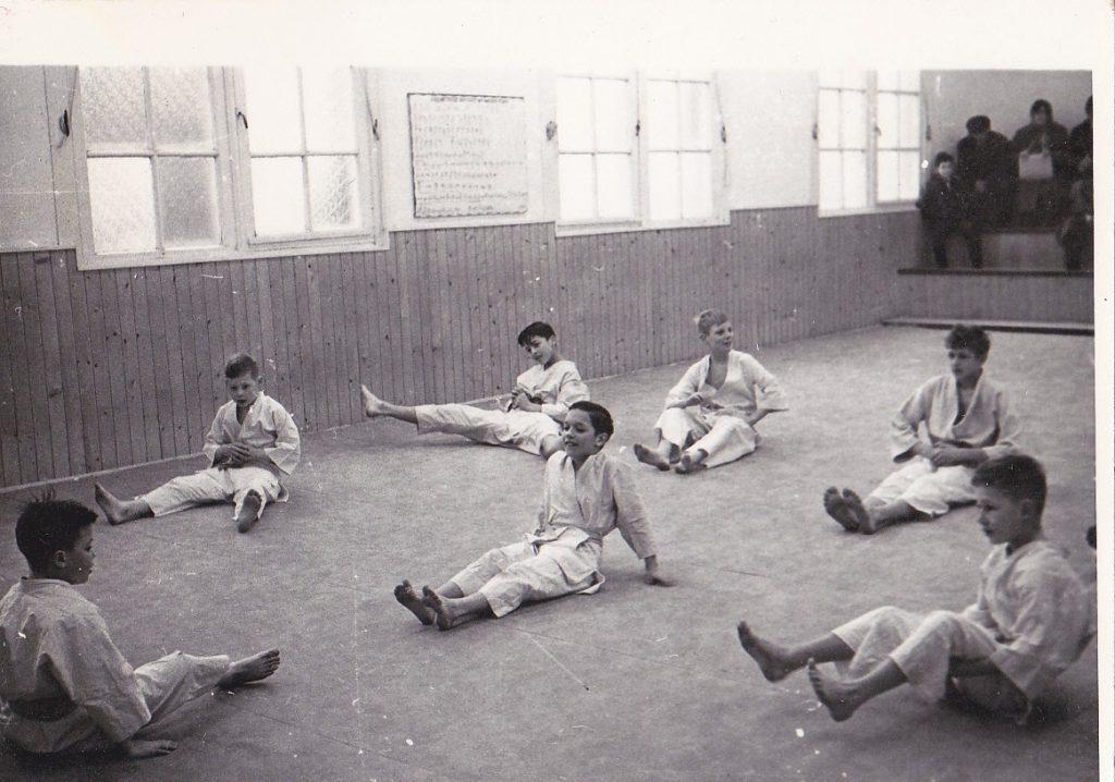 Yu-Ai Judoclub oude foto René Judo